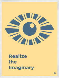 Image of Realize The Imaginary Print
