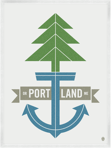 Image of Portland Print