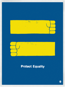 Image of Protect Equality Print
