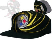 Image of Pittsburgh Steelers Vintage Deadstock Snapback Hat Cap
