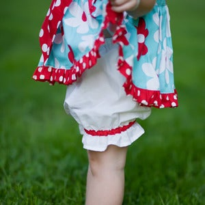 Image of Pretty Pantaloons Pattern for Girls 2T-6 - PDF Sewing Pattern