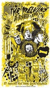 Image of Melvins gigposter