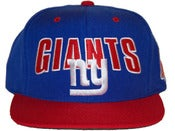 Image of NY GIANTS SNAPBACK Hat by Mitchell &amp; Ness