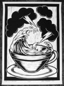 Image of Screen Print - Storm In A Tea Cup