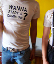 Image of Wanna Start a Commune? T-Shirt