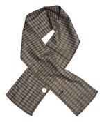 Image of SASH-AY SCARF Scottish Heritage Flash Tweed, Brown