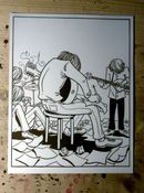 Image of Every Mistake - Original Ink Drawing