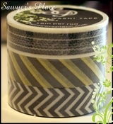 Image of Sampson Collection 3 Set - Japanese Masking Tape - 3 rolls 15mm x 15m