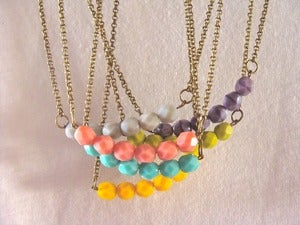 Image of Colours Colgantes/Necklaces (6 colores/colours)