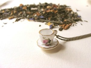 Image of Harriet (I love tea) Colgante/Necklace