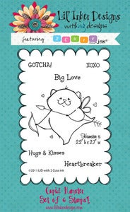 Image of 2 Cute Ink - Hamster Cupid *NEW* Mini Size