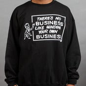 Image of No Business Crewneck