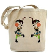 Image of Double Bubblegum Pop Tote!