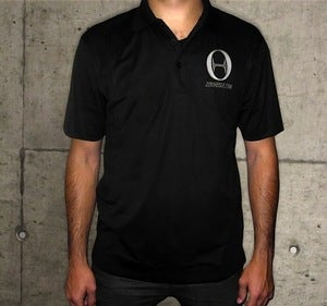 Image of Zero Hedge x -273 Dry-Fit Polo Black - NEW