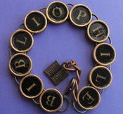 Image of Book Lovers Bibliophile Bracelet
