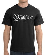 Image of Blakhart Guitars Logo Tshirt