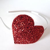 Image of Loverdose: Glitter Heart Headband
