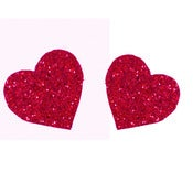 Image of Loverdose: Glitter Heart Bobby Pin Pair