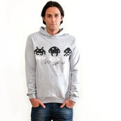 Image of The Invader Pullover {Ash}