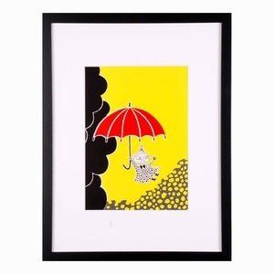 Image of Moomin Print - Little My.