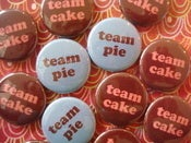 Image of Team Cake or Team Pie Pin