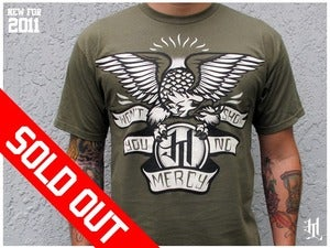 Image of *SOLD OUT* HOTLIFE - &quot;SHOW YOU NO MERCY&quot; VERSION2