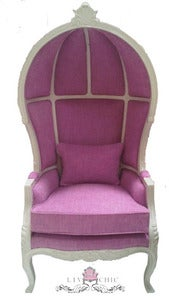 Image of Pretty in Pink Canopy Chair