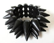 Image of Matte Black Spike bracelet