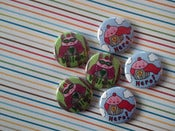 Image of CakeSpy Hero and Villain Pins