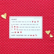 Image of 'Valentine Madlibs' postcard