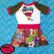 Image of Love Dress - Size 2T Slim fit
