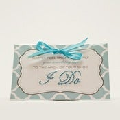Image of I do! Something Blue Shoe Stickers