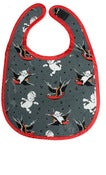Image of Sourpuss Flying Sailor Kewpie Bib