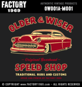 Image of Older & Wiser Speed Shop 53 Chevy - OW001A