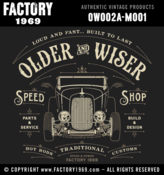 Image of Older & Wiser Speed Shop 32 Roadster - OW002A