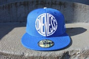 Image of ONENESS LOGO FITTED NEW ERA BLUE WHITE