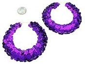 Image of Retro Fancy Bamboo Earrings