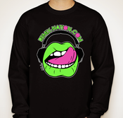 Image of Fluorescent Black Long Sleeve