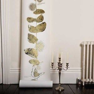 Image of Custhom - Hand foiled Columbia Road Wallpaper