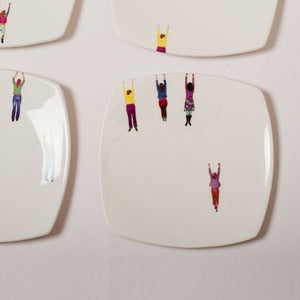 Image of Alice Mara - Hanging People Plates