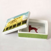 Image of Alice Mara - Dog track trinket box