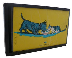 Image of KEEPSAKE BOX: Angus and the Cat, Back Cover