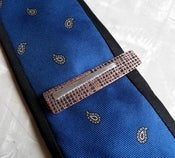 Copper and Silver Tie Slide--Metal Musings