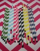 Image of Stripy Straws