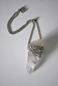 Image of Quartz Crystal Pendant