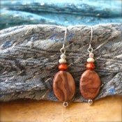 Image of Earthy Brown Earrings
