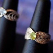 Image of Sterling Silver Filigree Rings