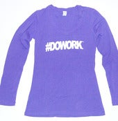 Image of #DOWORK. Long Sleeve (Purple)