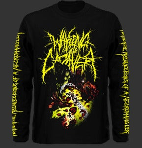 "Image of Waking The Cadaver ""Perverse Recollections Of A Necromangler"" Longsleeve T shirt"