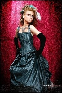 Image of Neo Victorain Bustle Gown Standard OR Custom Sized